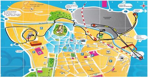 mapa da cidade de torres vedras Corrida do Centenário / SCUT 1917 – 2017 – Xistarca mapa da cidade de torres vedras
