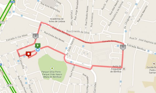 estrada de benfica mapa IX MEMORIAL FRANCISCO LÁZARO – Xistarca estrada de benfica mapa